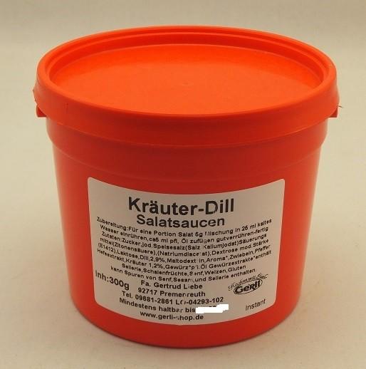 Kräuter-Dill Salatsoße Gerli Gewürze 300 g