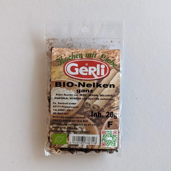 Bio Nelken ganz Gerli Gewürze 20 g