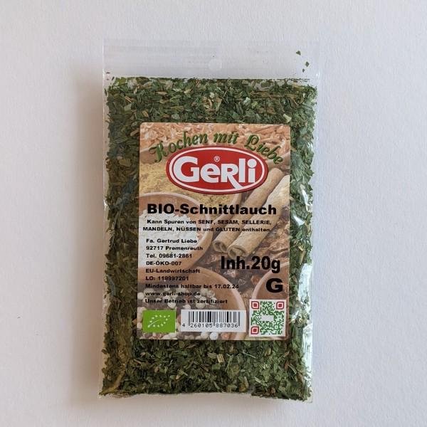 Bio Schnittlauch Gerli Gewürze 20 g