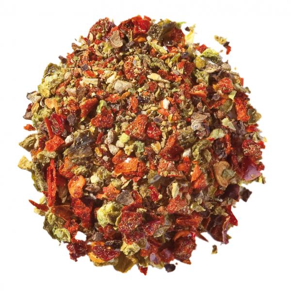 Jalapeno Pfeffer grün rot geschrotet Gerli Gewürze 35 g