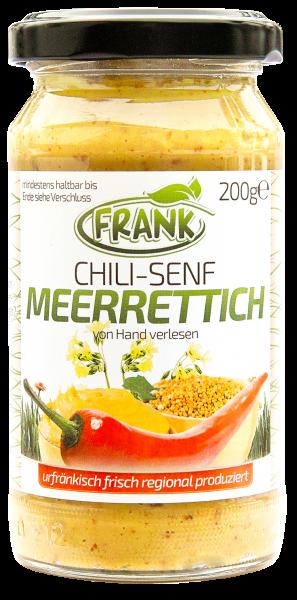 Meerrettich Chili-Senf Gerli 200 g