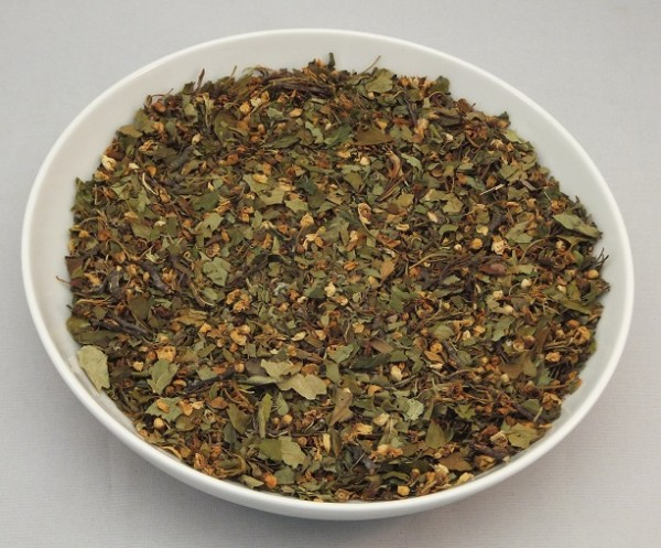 Weißdornblätter mit Blüten Gerli Tee 100 g