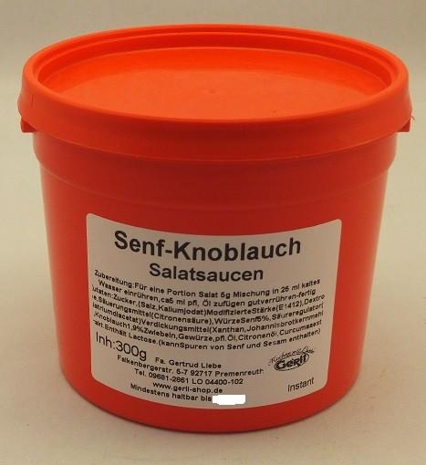 Senf-Knoblauch Salatsoße Gerli 300 g