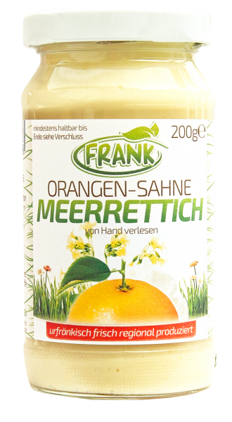 Meerrettich Orangen Sahne Gerli Gewürze 200 g