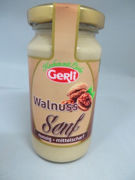 Walnuss Senf Gerli