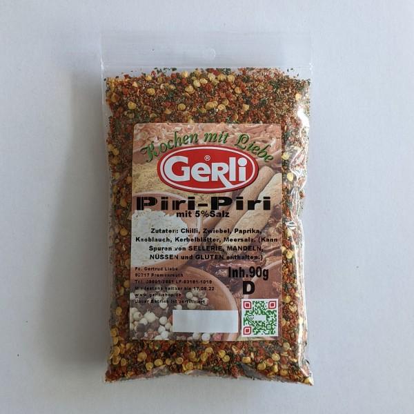 Piri-Piri mit 5% Salz Gerli Gewürze 90 g