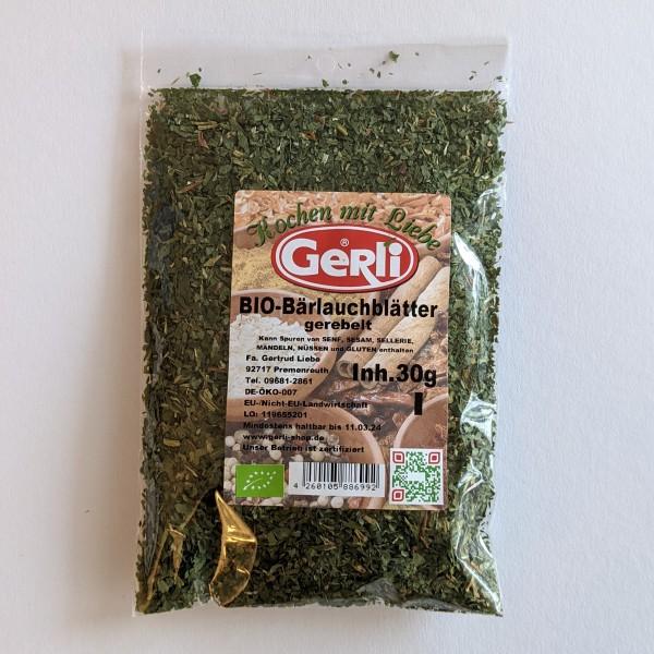 Bio Bärlauchblätter gerebelt