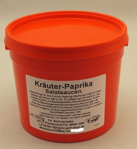 Kräuter-Paprika Salatsoße Gerli Gewürze 300 g